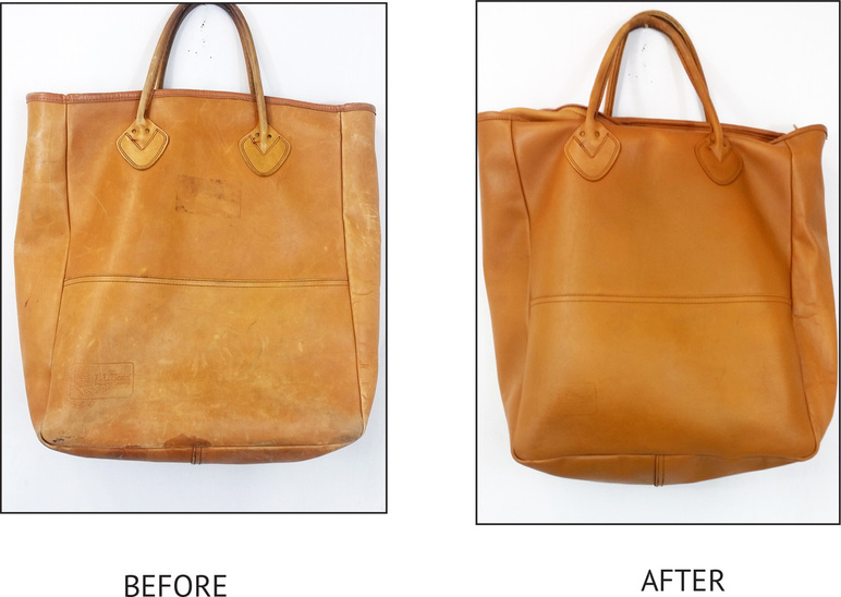 Hard To Believe This Is The Same Bag Amazing Color Restoration Arrow Leathercare Did An Incredible Job Restoring Backpack